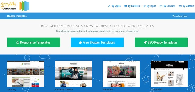 image of Gooyaabite templates the top site to download free blogger templates
