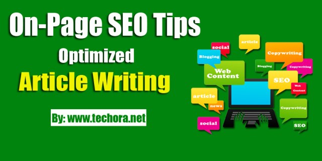 image of on-page seo tips for writing a optimized posts for search engine ranking improved