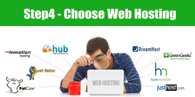 image: how to choose best web hosting service for starting a blog
