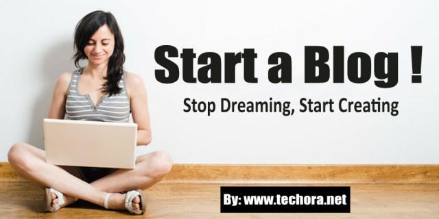"Image : How To ""Start a Blog"" Today – Make Money Blogging Guide for Beginner's"