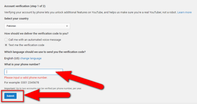 image : How to Verify Your YouTube Account / Channel