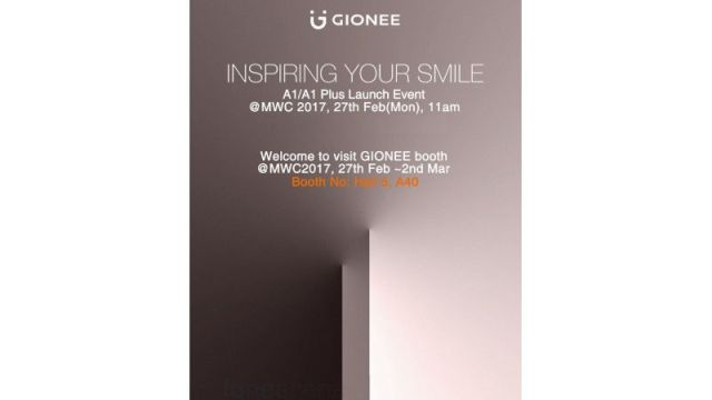 Gionee A1, A1 Plus Price and Specifications: Set to Launch on February 27 at MWC 2017