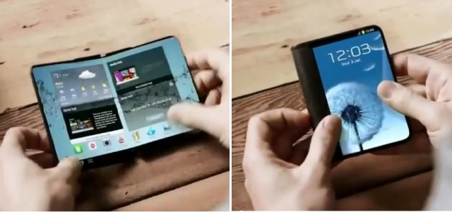 Samsung Rumored to Launch a Prototype Foldable Smartphone at MWC 2017