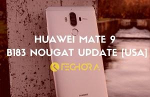 Download Huawei Mate 9 B183 Nougat Update [USA] with Amazon Alexa