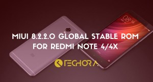 MIUI 8.2.2.0 Global Stable ROM for Redmi Note 4/4x