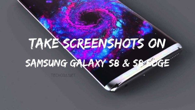 Take Screenshots on Samsung Galaxy S8 and S8 Edge [How To]