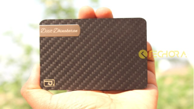 Carbon Fiber Wallet PITAKA
