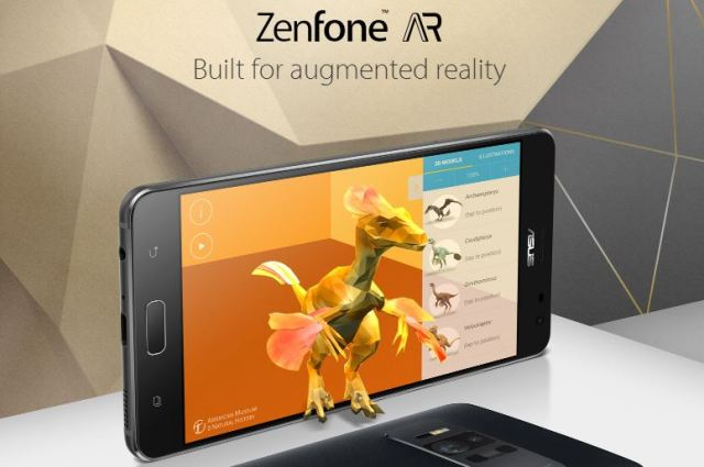 Asus ZenFone AR to feature 8 GB RAM and Tango AR