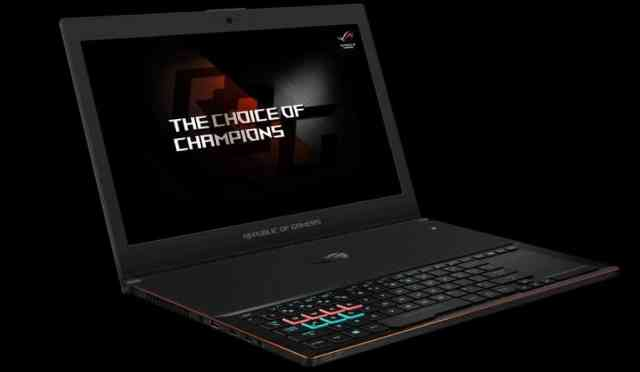 Asus ROG Zephyrus Ultra-Slim Laptop Announced with GTX 1080 Max-Q