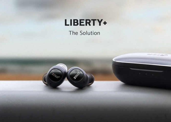 Liberty+ Earbuds: The First Zero-Compromise Total-Wireless Earphones