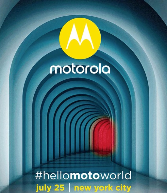 Motorola Sends Out Invites For July 25th Event, Likely For New Phone