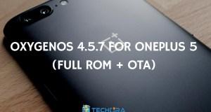 OxygenOS 4.5.7 for OnePlus 5