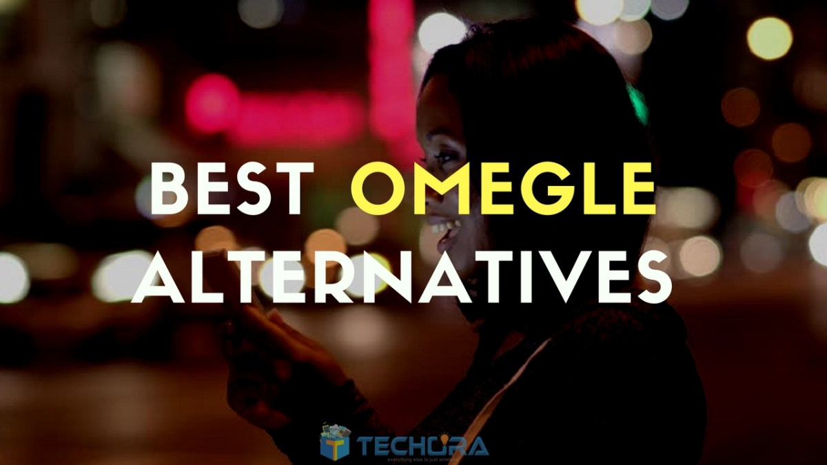 Top 5+ Sites Like Omegle - Best Omegle Alternatives