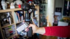 Dji OSMO + Handheld Fully Stabilized 4K Camera