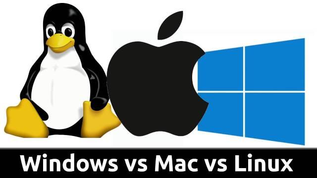 Windows vs. Mac vs. Linux