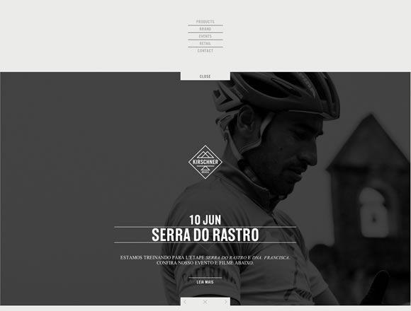 Navigation - website design