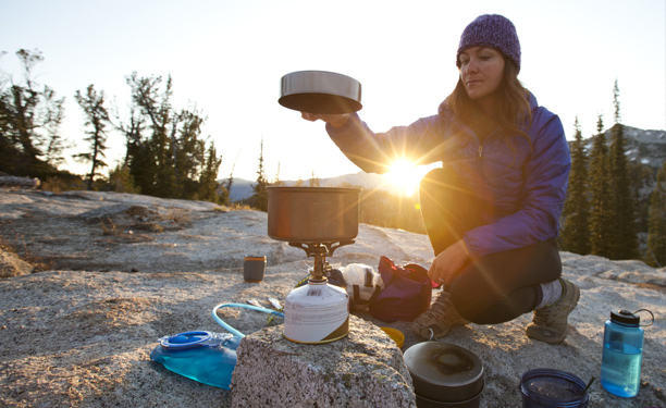 Backpackers - cooking and eating gear for hikers and campers