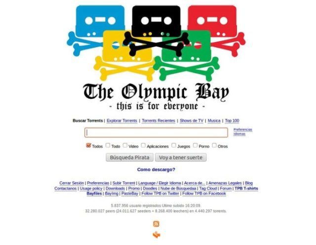 olympic bay How to unlock the Pirate Bay and Torrent Anonymously