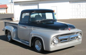 1956 Ford offered power and safety, sold on affordability