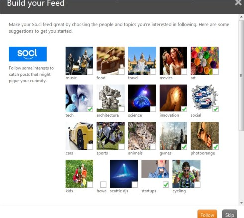 socl Build Feed