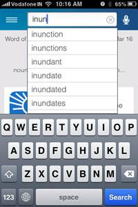 DictionaryDotComSuggestions