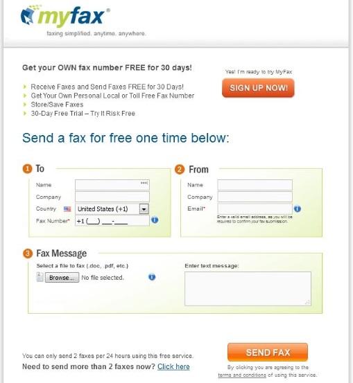 MyFax_Free