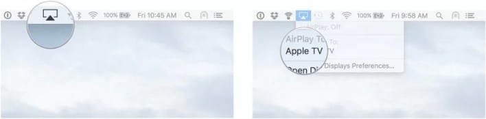 AirPlay Media from Mac - Apple TV