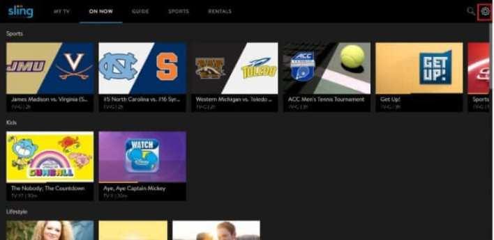 Cancel Sling TV subscription