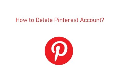 How to Delete Pinterest Account