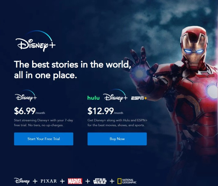 Sign Up for Disney Plus