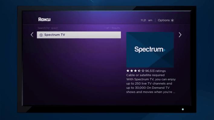 Spectrum Roku