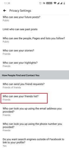 How to Hide Friends On Facebook?