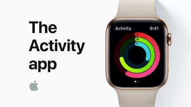 Activity on Apple Watch