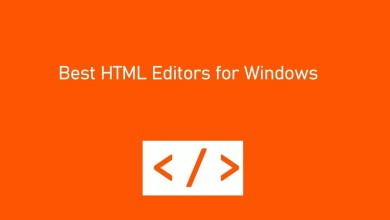 Best HTML editors for windows
