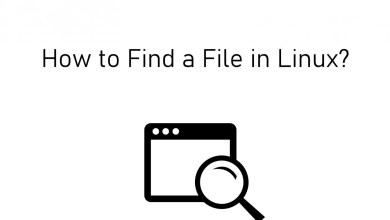 Find a file on Linux