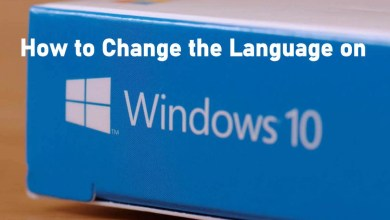 How to Change the Language on Windows 10