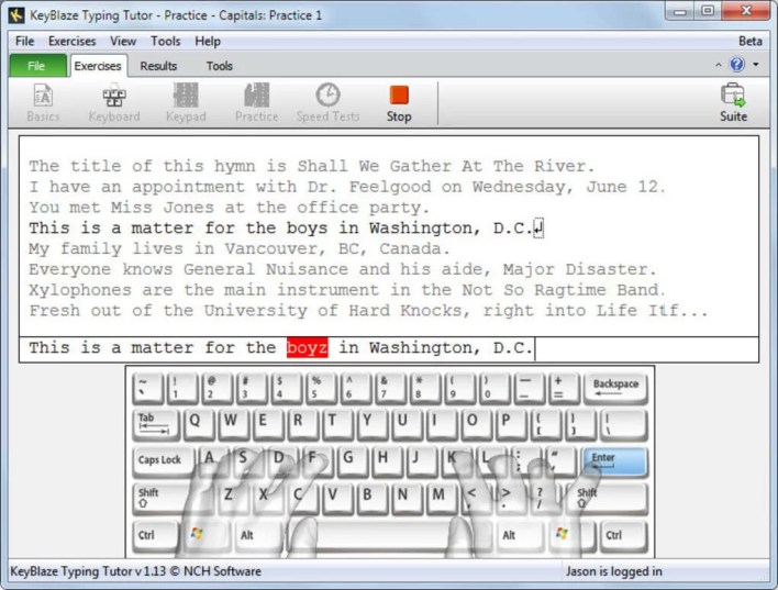 KeyBlaze - Best Typing Software for PC Windows