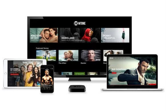 SHOWTIME supported devices