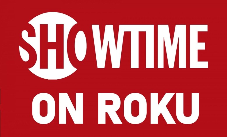 Showtime on roku