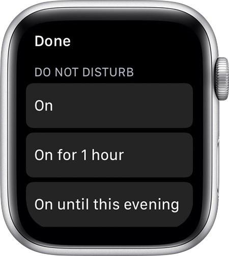Do Not Disturb Mode