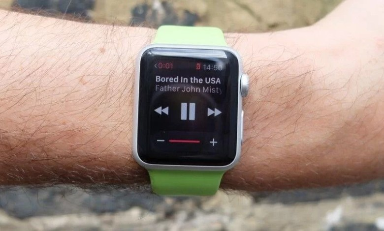 Amazon Music on apple watch