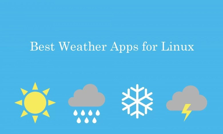 Best Weather apps for Linux