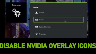 Photo of How to Disable NVIDIA Overlay Icons, Instant Replay & Notifications