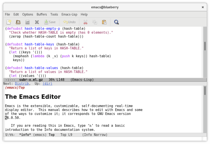 Emacs - Best LaTeX Editor for Mac