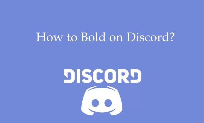 How to bold on Discord
