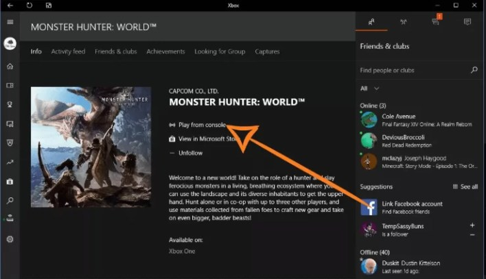 Install Games from the Xbox App