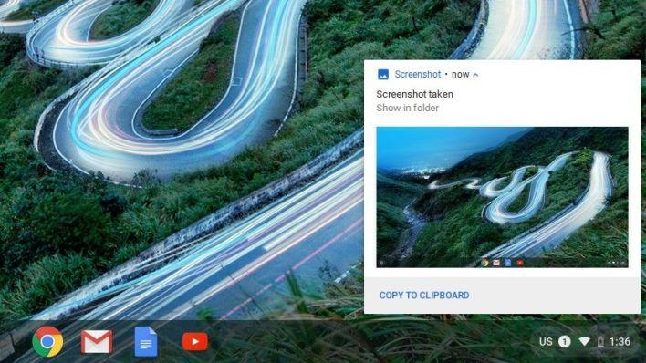 Take a Screenshot on Chromebook