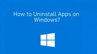 Photo of How to Uninstall Programs/Apps on Windows 10/8/7