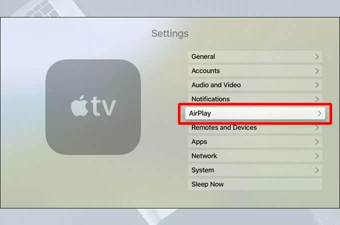 YouTube on Apple TV via AirPlay