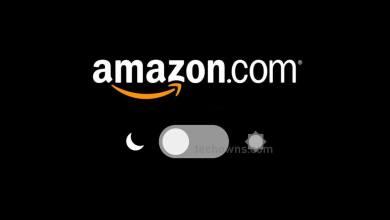 Amazon Dark Mode